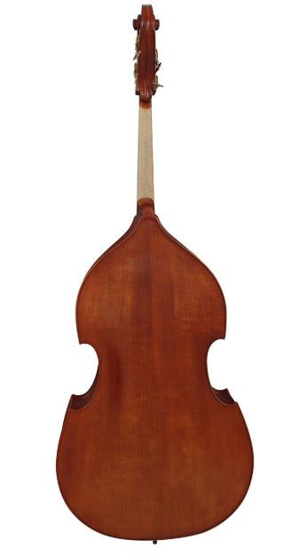 1/8褐色哑光低音提琴