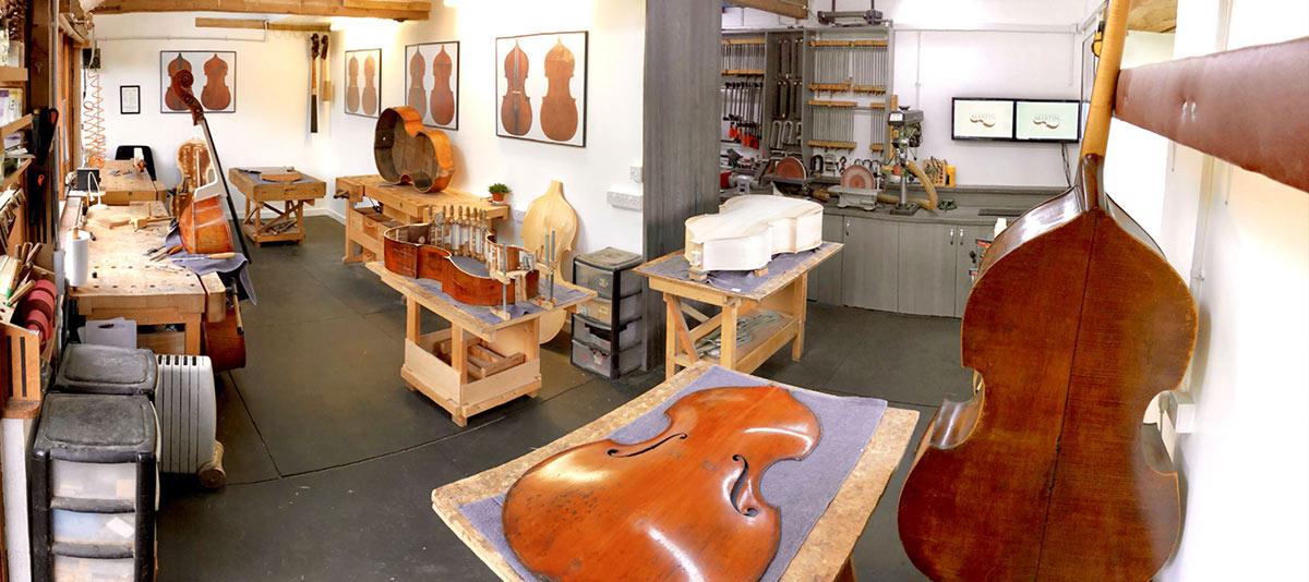 低音提琴屋,专注手工琴制作